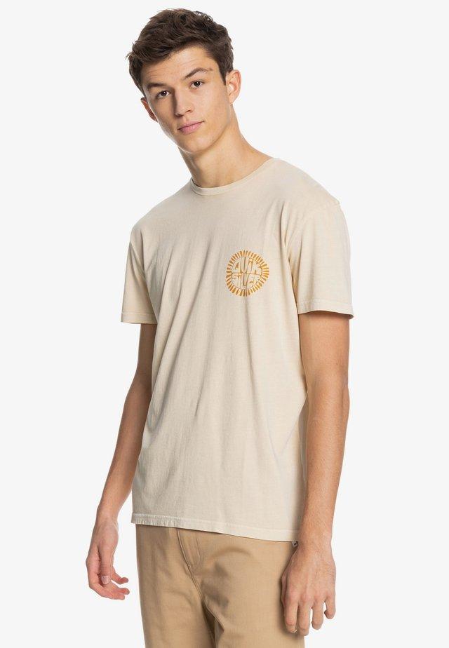ENDLESS TRIP - T-shirt imprimé - antique white