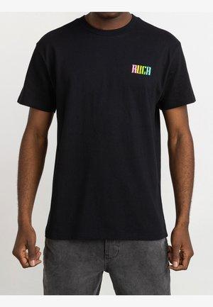 ROBERTO REDONDO LIZARD WIZARD - Print T-shirt - black