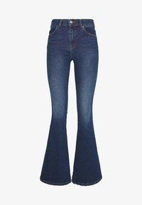 MACY - Jeans a zampa - westcoast dark blue