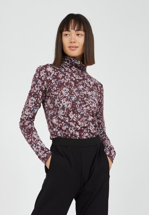 MALENAA EARLY BLOSSOMS  - Long sleeved top - aubergine