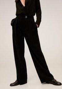 Mango - SIMO-I - Pantalon classique - noir - 0