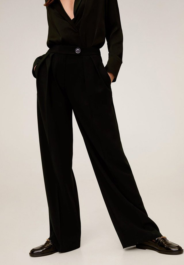SIMO-I - Trousers - noir