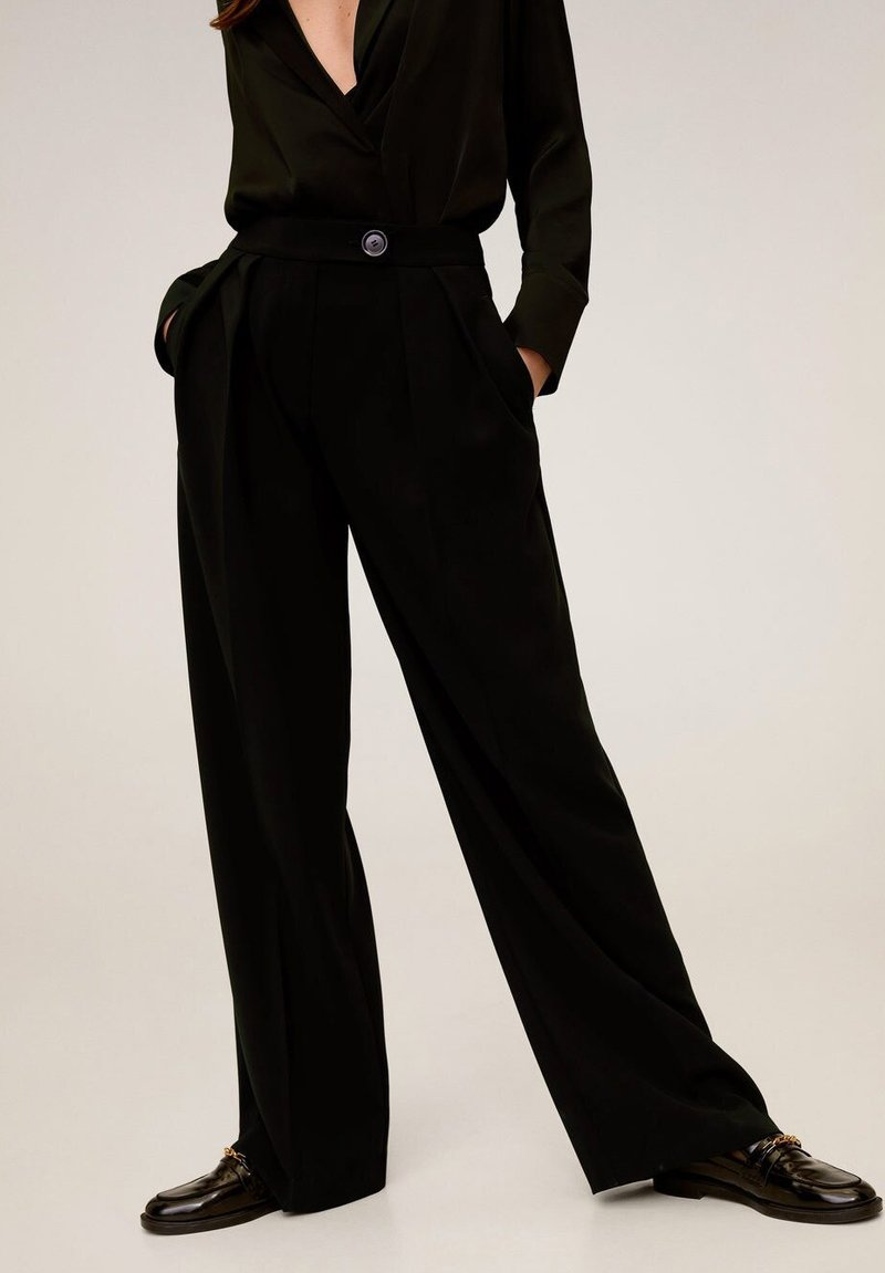 Mango - SIMO-I - Pantalon classique - noir