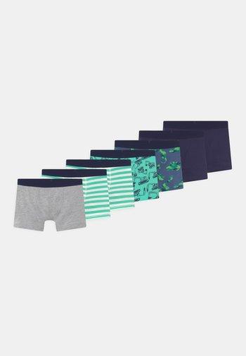 BOYS 7 PACK - Pants - dark blue/green/grey