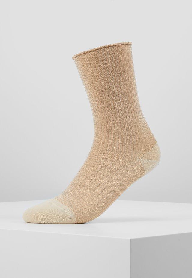 MALENE GLITTER - Socks - gold