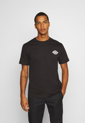 VERTICAL - Print T-shirt - black