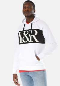 Young and Reckless - HYBRID - Hoodie - white - 0