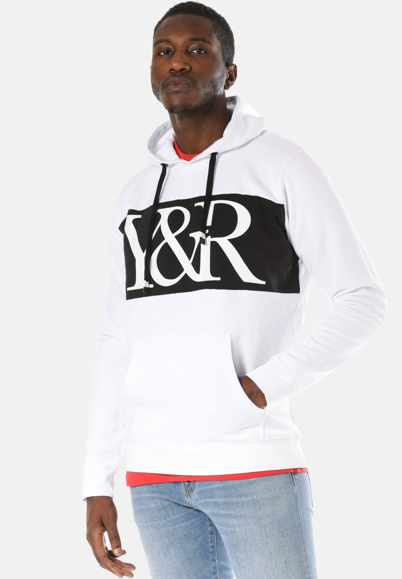 Young and Reckless - HYBRID - Hoodie - white