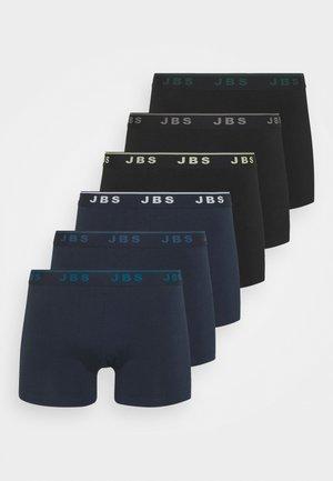 6 PACK - Pants - black/navy