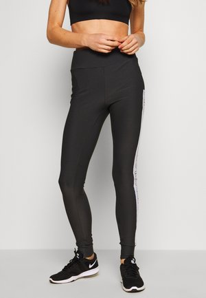 LARISSA LEGGINGS - Leggings - asphalt/bright white