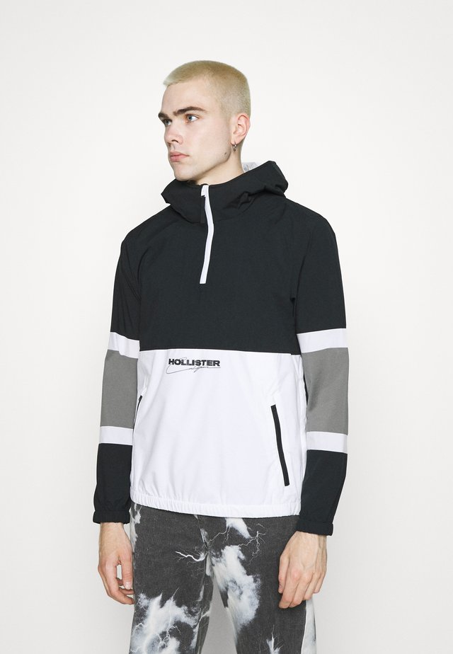 Lehká bunda - black/white/grey