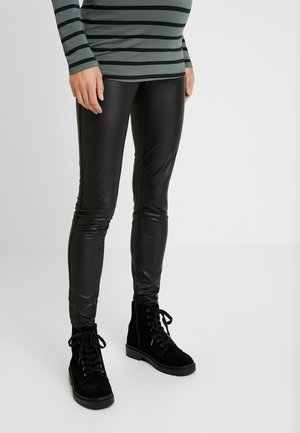 SHINE - Trousers - black