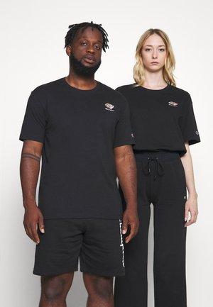 CREWNECK UNISEX - Print T-shirt - black