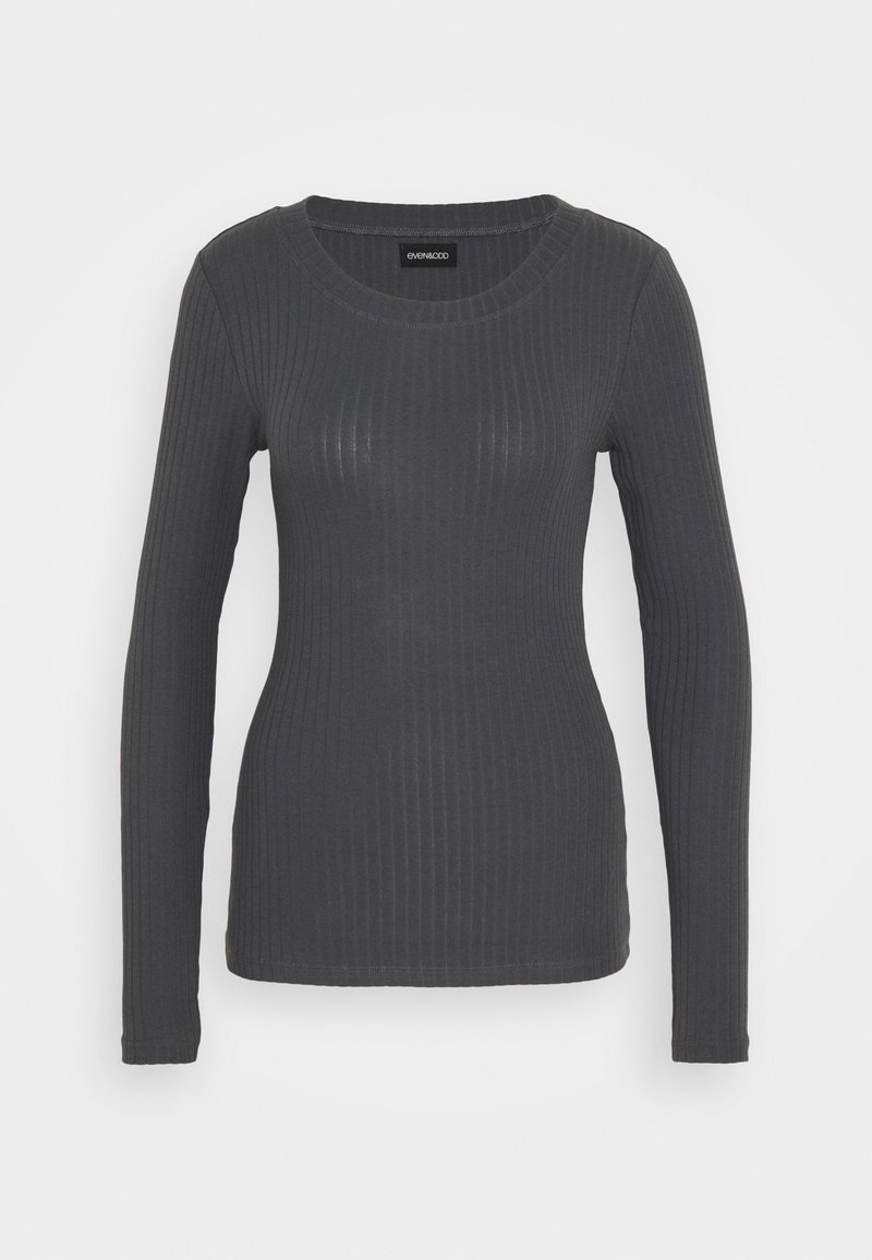 Even&Odd Tall - BASIC CREW NECK LONG SLEEVES - Long sleeved top - anthracite