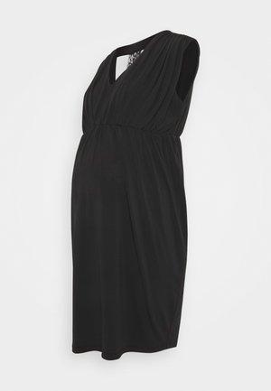 MLZORINA SHORT DRESS - Jerseyjurk - black