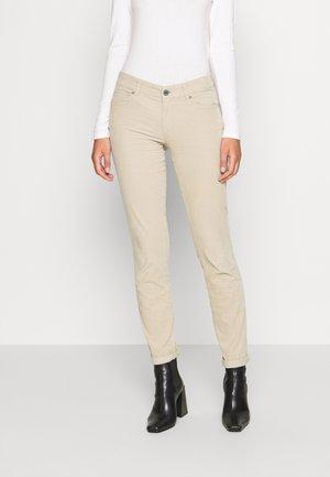ALBY SLIM - Trousers - vintage stone