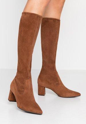 BRUINA - Vysoká obuv - sable