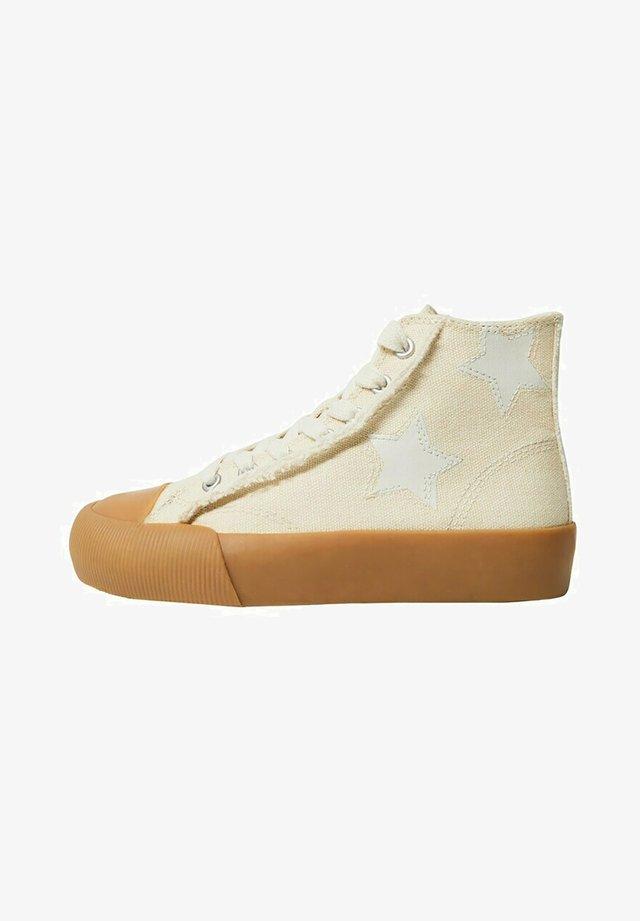 DALLAS - Sneakers hoog - ecru