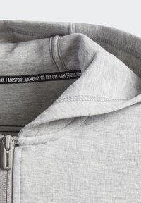 adidas Performance - 3-STREIFEN DOUBLEKNIT KAPUZENJACKE - Zip-up hoodie - grey - 5