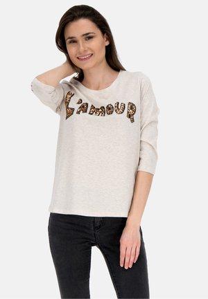 L'AMOUR - T-shirt print - oatmeal
