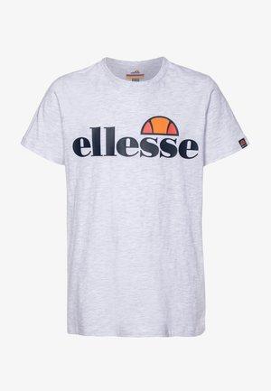 MALIA - Camiseta estampada - white marl