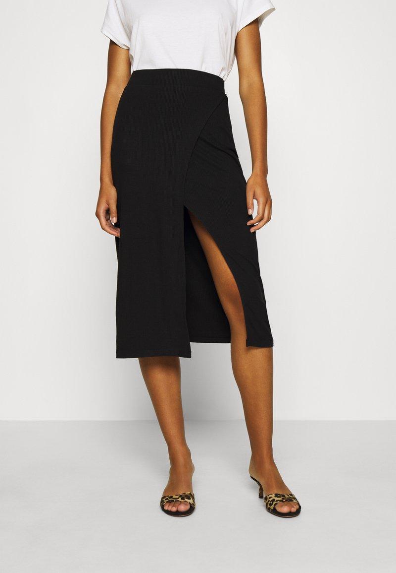 Zign - Spódnica ołówkowa  - black