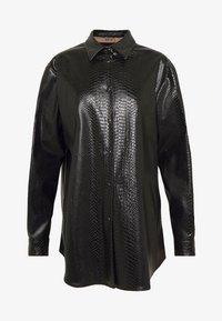 N°21 - Button-down blouse - black - 5
