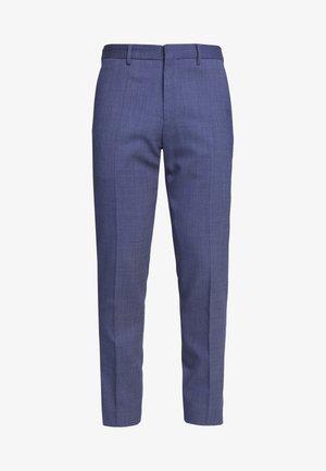 SLIM FIT FLEX PANT  - Suit trousers - blue
