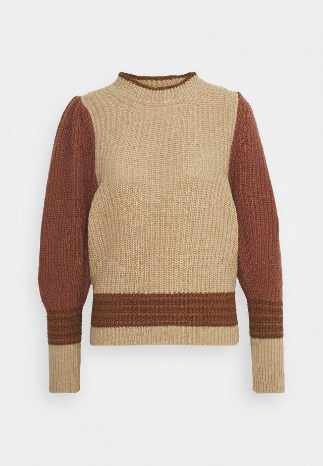 POPLIA - Sweter - beige