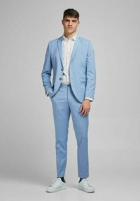 Jack & Jones PREMIUM - SLIM FIT - Blazer jacket - chambray blue - 1