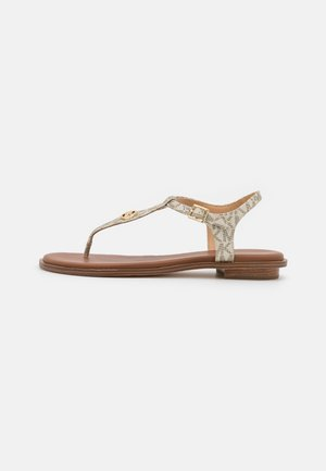 MALLORY THONG - Sandals - pale gold