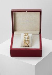 Salvatore Ferragamo - DOUBLE GANCINI WOMEN BRACELET - Watch - gold-coloured - 3