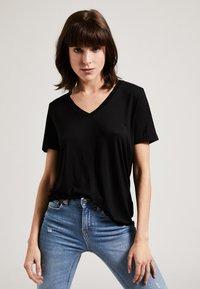 Phyne - T-shirt basique - black - 0