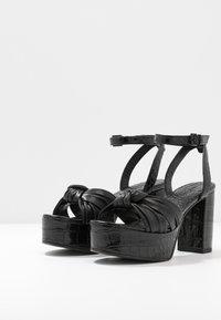 Kennel + Schmenger - GISELLE - High heeled sandals - schwarz - 4