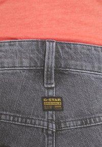 G-Star - 3D SLIM FIT - Slim fit jeans - grey denim - 4