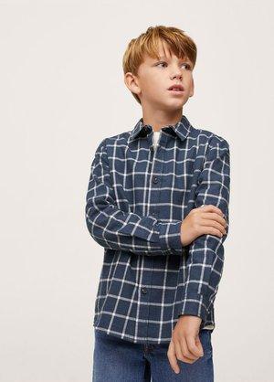 Overhemd - donkermarine