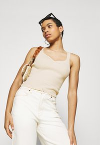 Abercrombie & Fitch - Top - soft yellow - 3
