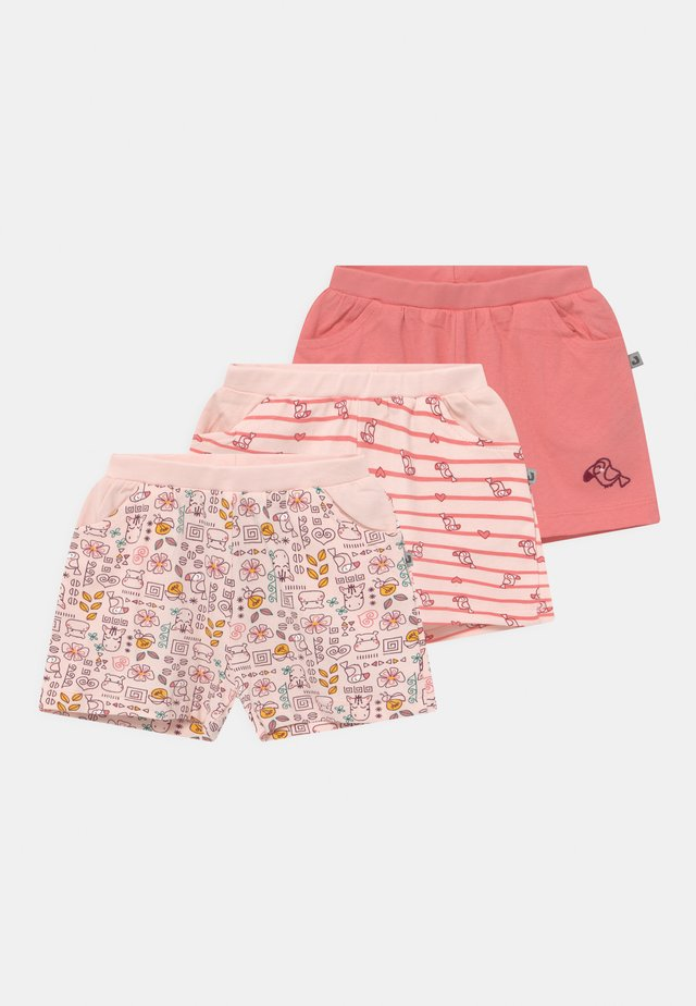 JUNGLE GIRL 3 PACK - Shortsit - light pink