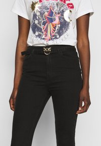 Pinko - SUSAN TROUSERS - Jeansy Skinny Fit - black - 5