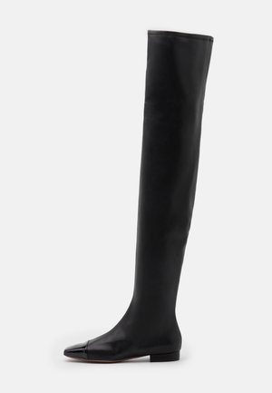 STRETCH BOOT - Ylipolvensaappaat - black