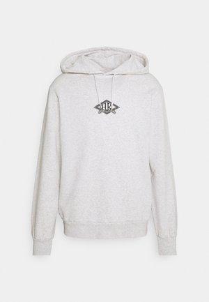CASUAL HOODIE - Sweatshirt - grey melange/black