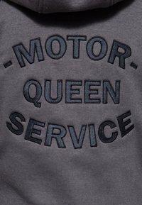 Queen Kerosin - Zip-up sweatshirt - hellgrau - 4
