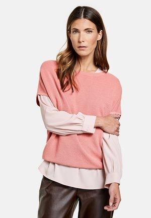 Basic T-shirt - pastel rose