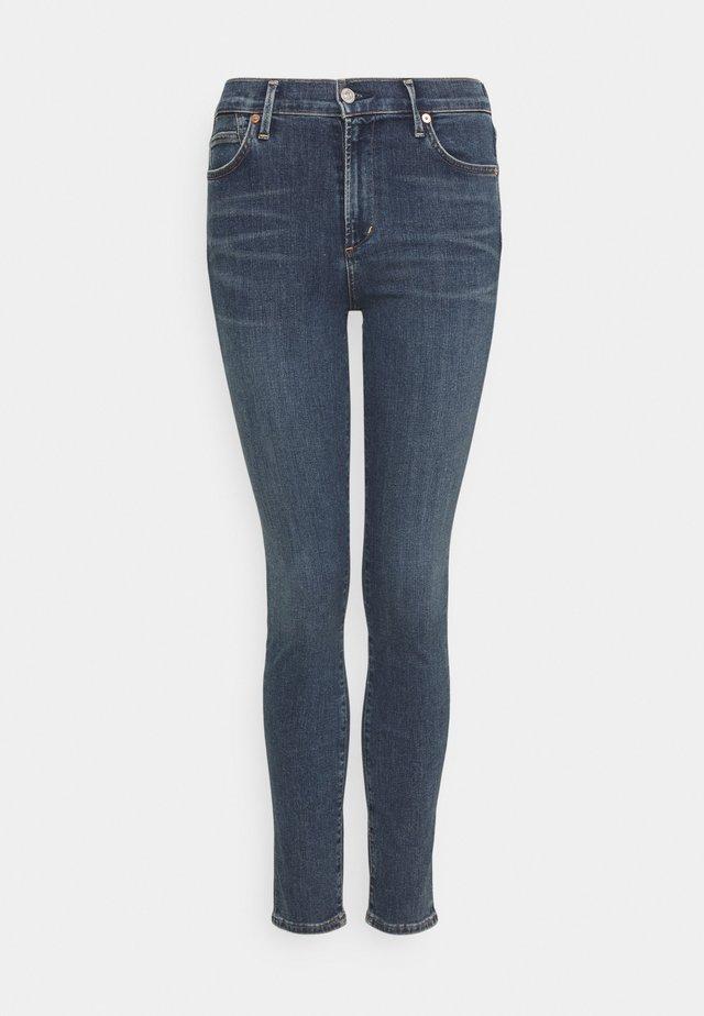 ROCKET ANKLE - Jeans Skinny Fit - tide