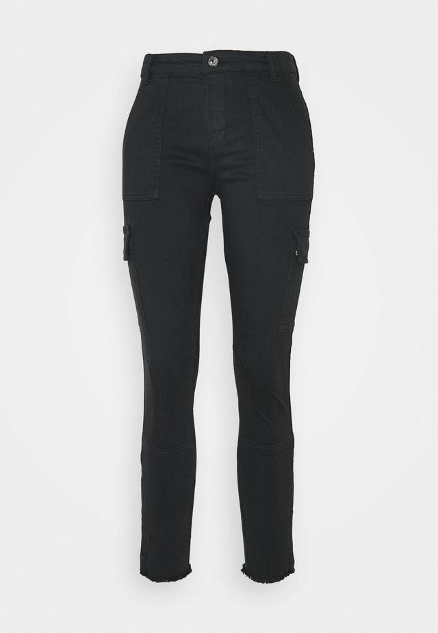 DURAN - Jeansy Skinny Fit - black