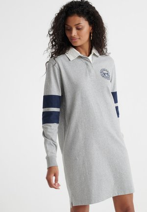 WEBB - Jersey dress - grey