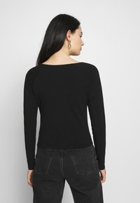 Monki - MONIKA - Topper langermet - black - 2