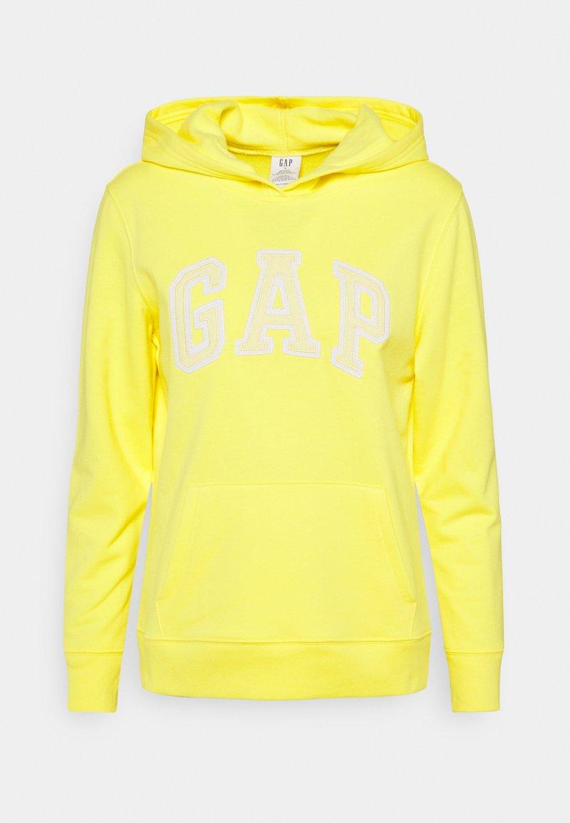 GAP - FASH - Sweat à capuche - bright lemon meringue