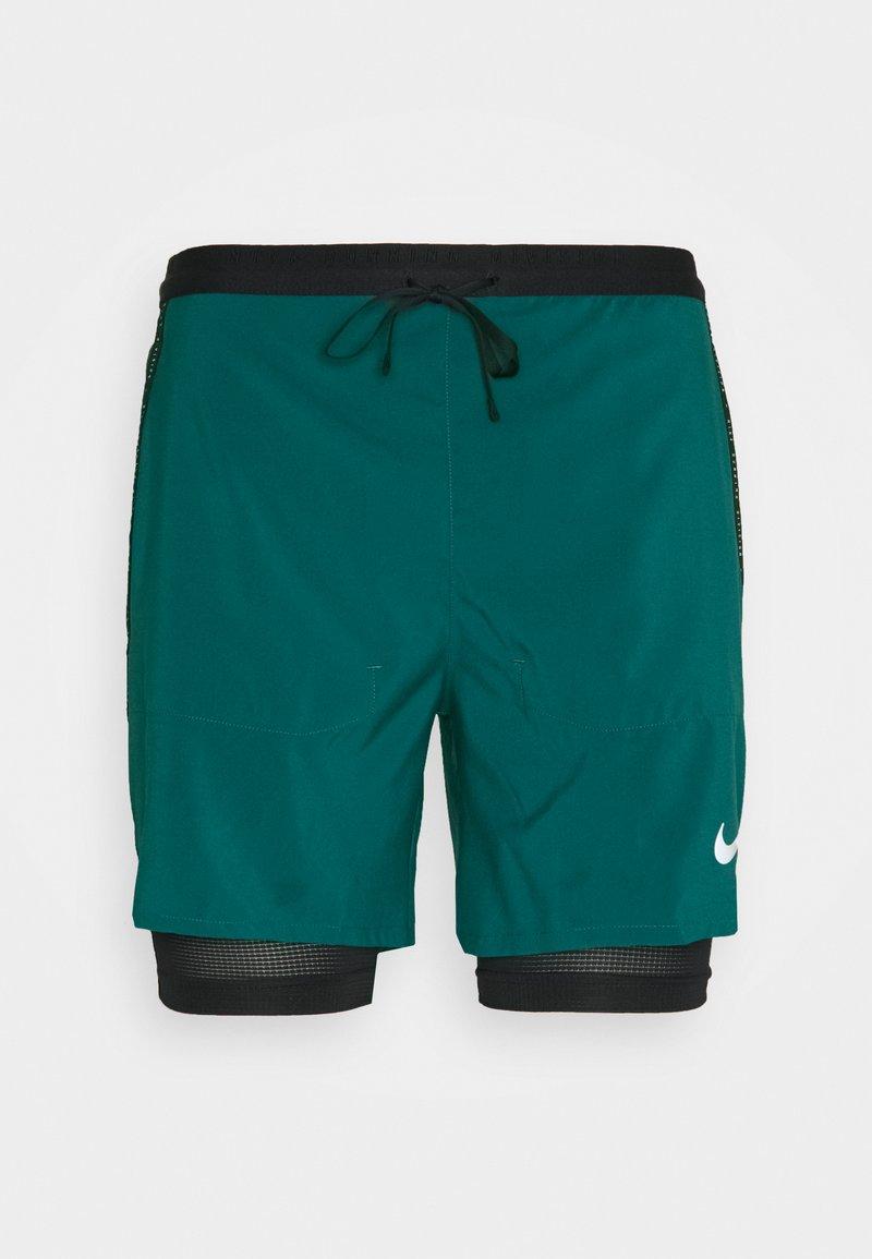 Nike Performance - Sports shorts - dark teal green/black/reflective silver