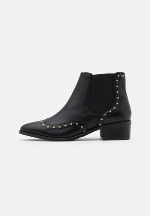 SLFELLEN STUD  - Ankle boot - black